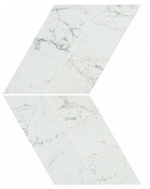Marvel Carrara Pure Chevron Lappato (AS1V) 22,5X22,9 Керамогранит