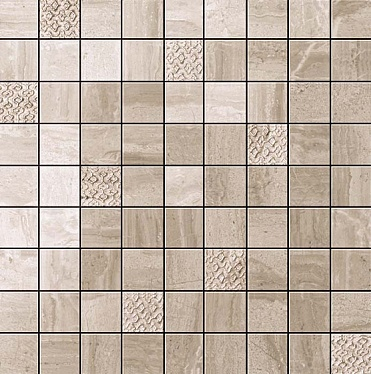 Suprema Walnut Mosaic 30x30 / Супрема Волнат Мозаика 30x30 (600110000057)