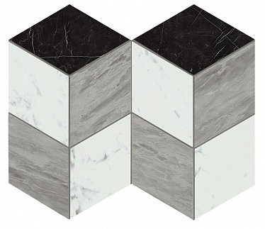 Marvel Mosaico Esagono Geo Cold Lapp. (AS2L) 25,4X35,2 Керамогранит