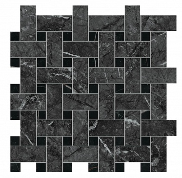 Marvel Grigio Intenso Basket Weave Matt (AOVK) 30,5x30,5 Керамогранит