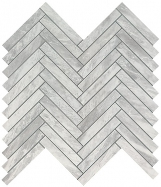 Marvel Bardiglio Grey Herringbone Wall (9SHB) 30,5X30 Керамическая плитка