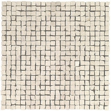 Marvel Clauzetto White Tumbled Mosaic (9STL) 30x30 Керамическая плитка