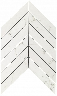 Marvel Carrara Pure Chevron Wall (9SCA) 30,5X25 Керамическая плитка