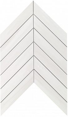 Marvel Bianco Dolomite Chevron Wall (9SCD) 30,5X25 Керамическая плитка