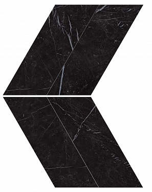 Marvel Nero Marquina Chevron Lappato (AS1W) 22,5X22,9 Керамогранит