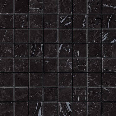 Marvel Nero Marquina Mosaico Matt (AS3Z) Керамогранит